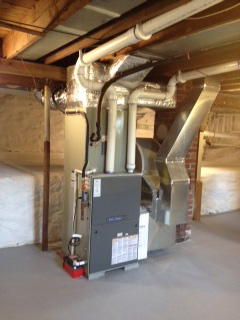 New furnace installed in Islip