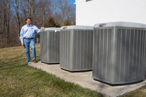 High-efficiency air conditioning in Brookhaven