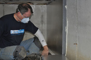 Crawl Space Insulation in Islip, Brookhaven, Huntington