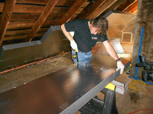Rigid Foam Insulation from Triple H Home Efficiency Experts